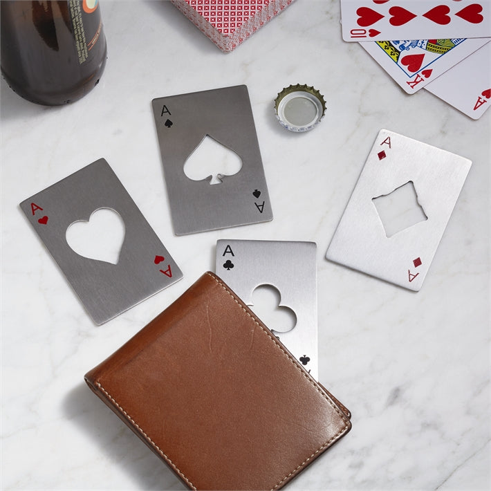 Two's Company Ace Playing Card Bottle Opener In Gift Box