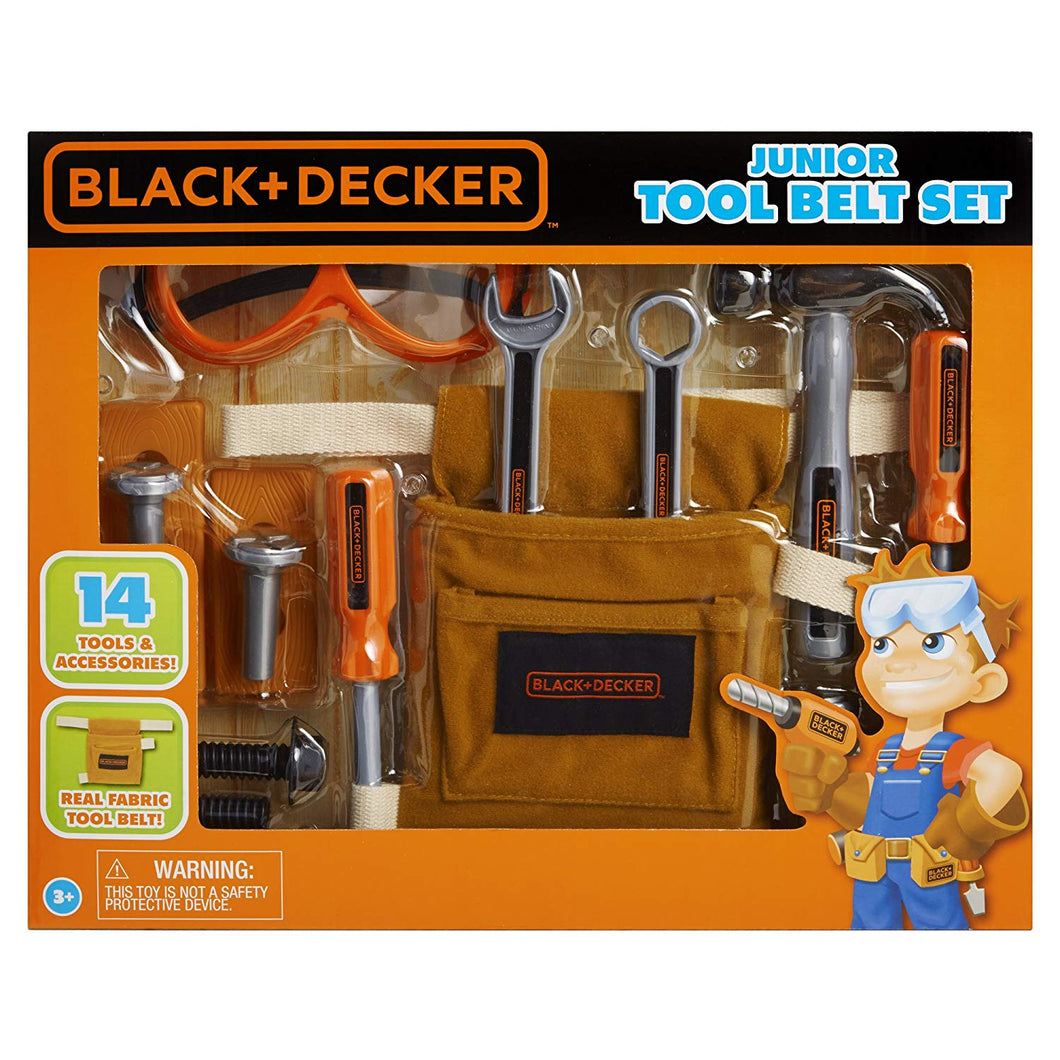 Black & Decker Junior Tool Belt Set