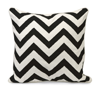 Chevron Embroidered Pillows