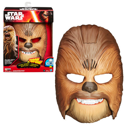 Star Wars: The Force Awakens Chewbacca Electronic Mask