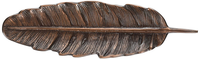 Two's Company Copper Feather Tray