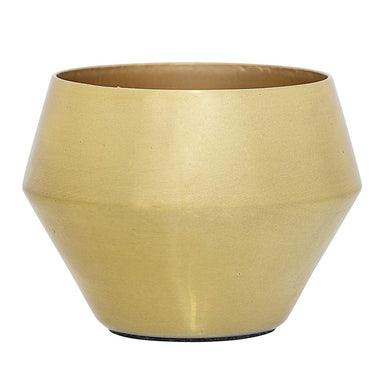 Aluminum Votive Holder, Gold Finish
