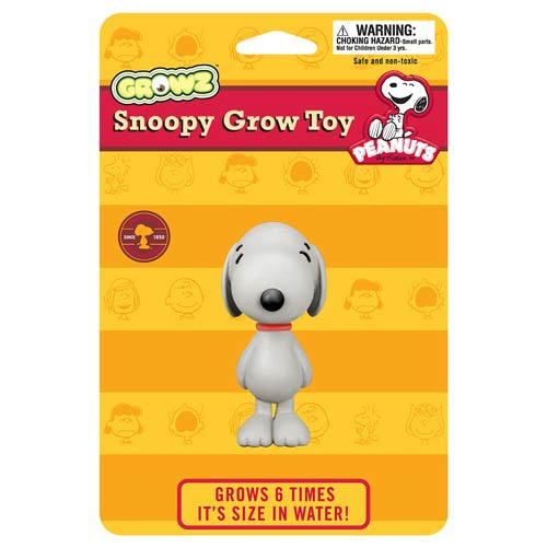 Peanuts Snoopy Grow Your Own Figure