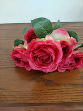 Faux Half Dozen Red Roses