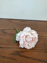 Single Silk Peony Flower Stem