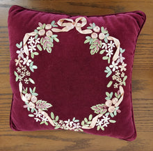 Vintage Embroidered Pillow