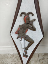 Vintage Burwood Products Jester Wall Plaques