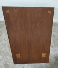Vintage Distinctive Furniture by Stanley Trapezoid-Shaped Accent Table w/Drawer
