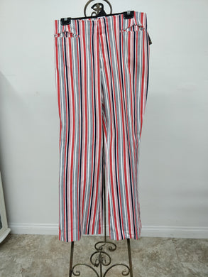 Vintage 1960's High-Waisted Levi's For Gals Striped Pants