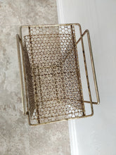 Vintage Metal Telephone/Magazine Rack