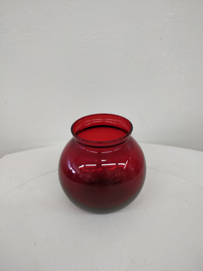 Vintage Small Red Vase