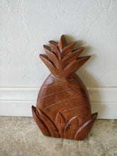 Vintage Monkey Pod Wood Pineapple Trivet