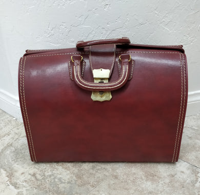 Vintage Men's Leather Bag