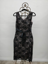 Vintage A Pea in The Pod Black Lace Maternity Dress