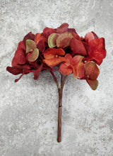 Faux Rust Colored Hydrangea