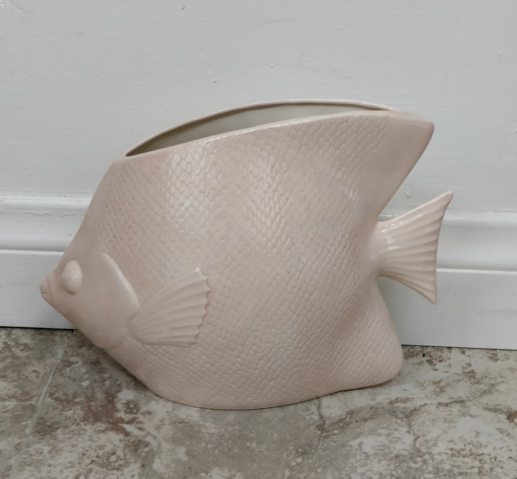 Vintage Fish-Shaped Vase