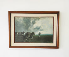 "Vintage Mario Bordi ""The Storm"" Wall Art"