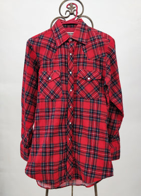 Vintage Authentic Western Youngbloods Flannel Shirt