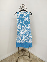 Vintage Blue & White Dress