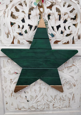 Handmade Wood Star