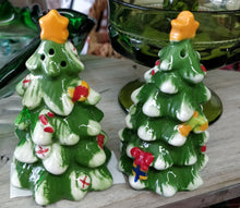 Vintage Christmas Salt & Pepper Shakers