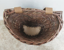 Vintage Willow Picking Basket
