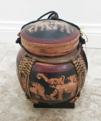 Vintage Thai Rice Basket