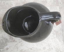 Vintage Black Pitcher