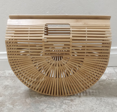 Arc Bamboo Clutch