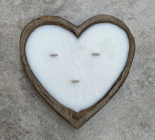 Heart-Shaped Dough Bowl Candle