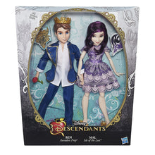 Disney Descendants Two-Pack Mal Isle of the Lost and Ben Auradon Prep Dolls