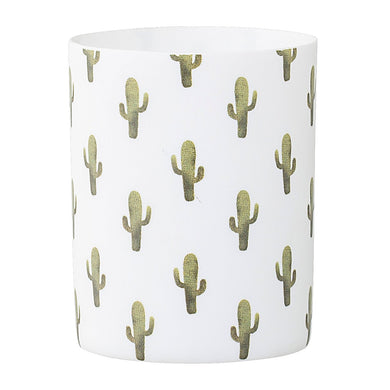 Bloomingville Jade Votive Candle Holder, Multi-Cactus