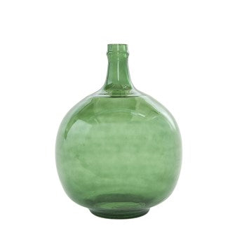 Dark Green Glass Bottle
