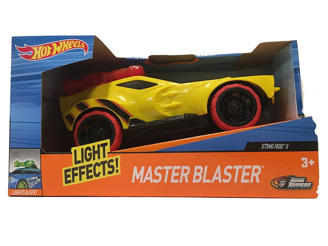 Hot Wheels Sting Rod II Master Blaster with Light & Sound Effects