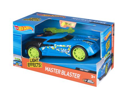 Hot Wheels Turbo Turret Master Blaster with Light & Sound Effects
