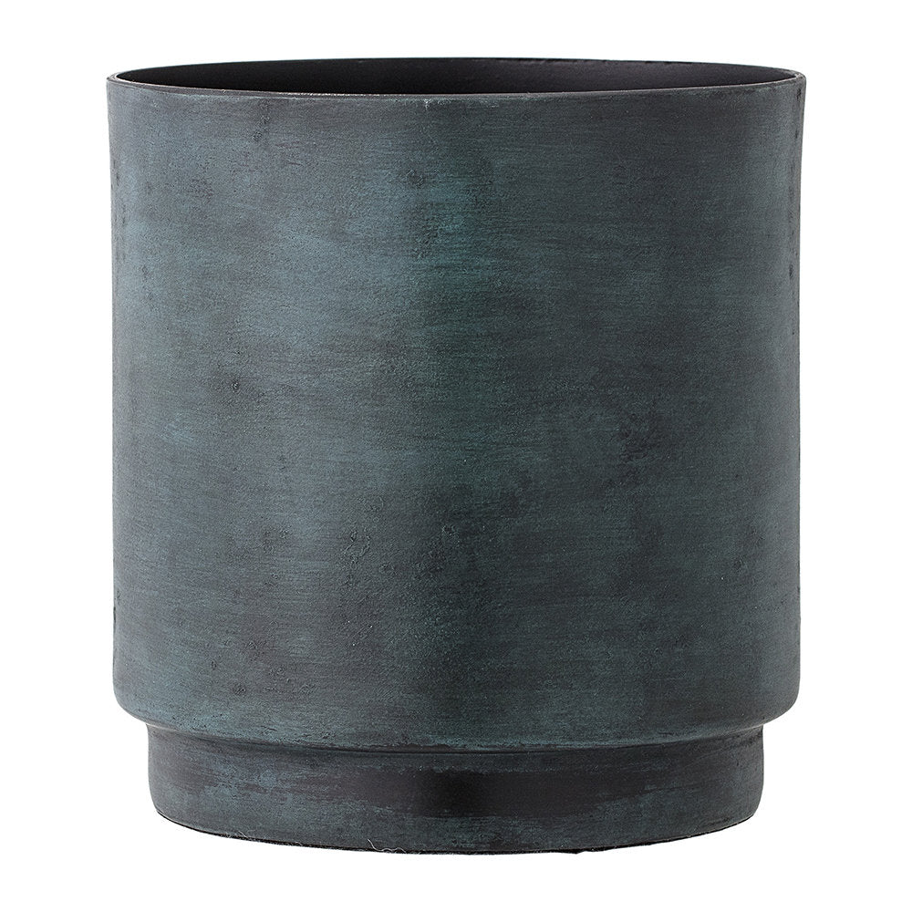 Green Aluminum Flower Pot