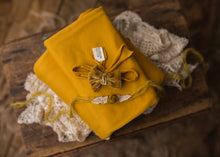 "limited-edition ""gold"" grande bow band OR ""gold"" dainty rosette tieback OR ""Mustard"" DreamSoft wrap/drop ($23/20/15/38)"