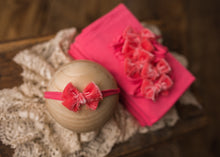 "limited-edition ""dark coral"" grande bow band OR ""dark coral"" wrap OR backdrop ($23/15/37)"