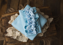 "limited-edition ""light blue"" grande bow band OR stretch wrap OR backdrop ($22/15/38)"