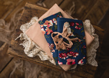 "limited-edition ""natural"" bow OR ""Leslie"" floral DreamSoft wrap OR textured backdrop ($20/15/37)"