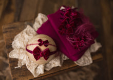 "limited-edition ""sangria"" velvet bows OR wrap OR backdrop ($22/23/15/38)"