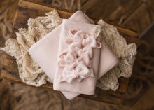 "limited-edition ""pale cool blush"" grande velvet bow band OR ""lightest pink"" boho band OR DreamSoft wrap OR backdrop ($23/25/15/38)"