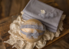 "limited-edition ""silver gray"" airy bow headband ($20/23)"