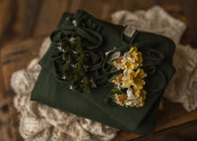 "limited-edition ""Dolly"" headband OR ""fern"" bow OR wrap OR backdrop ($23/22/15/38)"