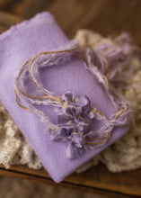 "limited-edition ""lavender"" long-tailed bow tieback OR wrap ($22/15)"
