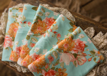 "limited-edition ""vintage peach"" grande bow headband OR wrap OR backdrop ($23/15/38)"
