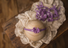 "limited-edition ""lavender"" pretty-little-bow tieback OR sweet-and-simple band ($25/20)"