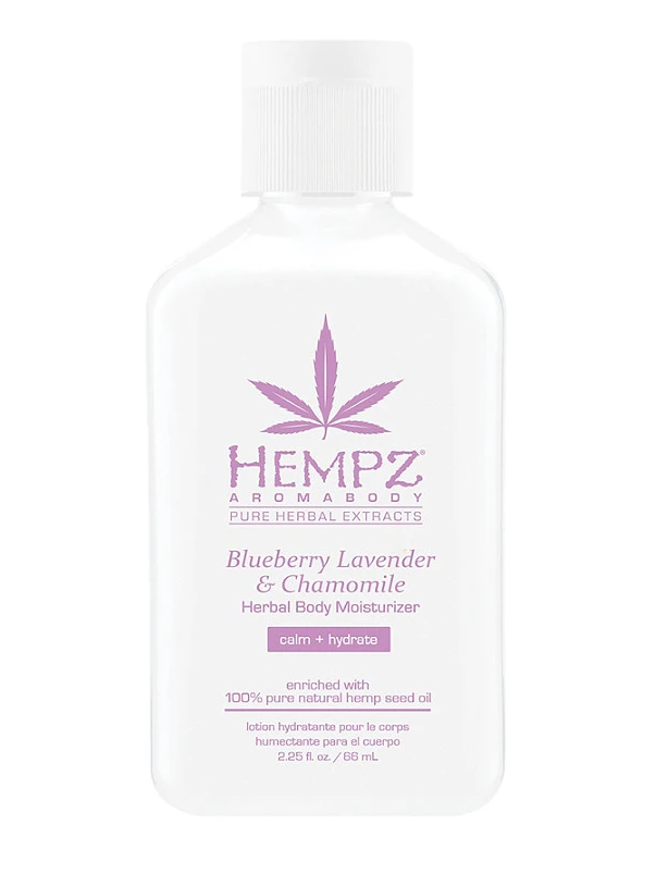 Hempz Blueberry Lavender & Chamomile Travel Size