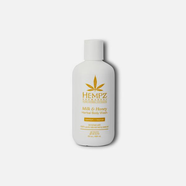 Hempz Milk & Honey Body Wash 8oz