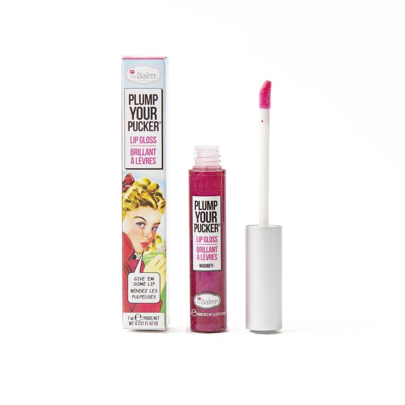 theBalm Plump Your Pucker Lip Gloss Magnify